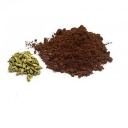 Oriental coffee with cardamom