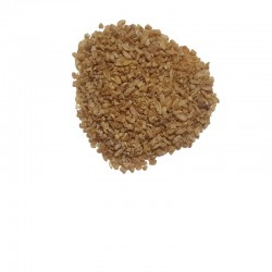 Precooked hulled wheat seeds