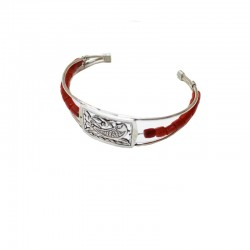 Bracelet Corail Argent