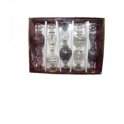 Package of 5 perfume bottles