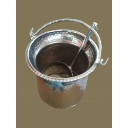 Hammam Eimer mit Kupfer tassa