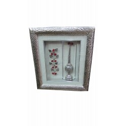 Wall frame flower branch and spear perfume mrach